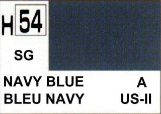 H54 NAVY Blue Semigloss 10 ml