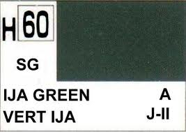 H60 IJA Green Semigloss 10 ml