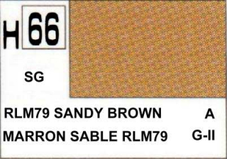 H66 RLM79 Sendy Brown Semigloss 10 ml