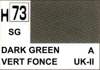 H73 Dark Green Semigloss 10 ml