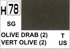 H78 Olive Drab II Semigloss 10 ml