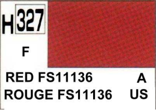 H327 FS11136 Red Flat 10 ml