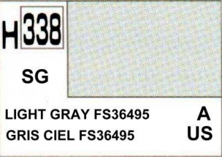 H338 FS36495 Light Grey Semigloss 10 ml