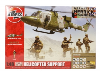 Helicopter Support Gift SET; 1:48