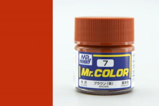 C7 Mr.Color Brown Gloss 10 ml