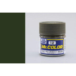 C12 Mr.Color Olive Drab 1 Semigloss 10 ml