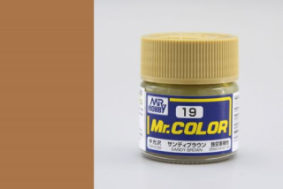 C19 Mr.Color Sandy Brown  Semigloss 10 ml