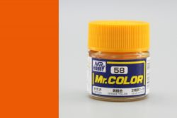 C58 Mr.Color Orange Yellow Semigloss 10 ml