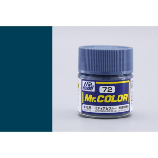 C72 Mr.Color Intermediate Blue Semigloss 10 ml