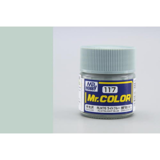 C117 Mr.Color RLM76 Light Blue Semigloss 10 ml