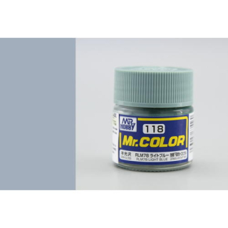 C118 Mr.Color RLM78 Light Blue Semigloss 10 ml