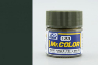C123 Mr.Color RLM83 Dark Green  Semigloss 10 ml