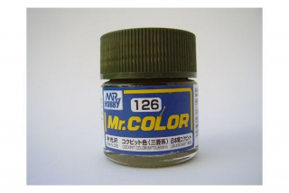 C126 Mr.Color Cockpit Color (Mitsubishi) Semigloss 10 ml