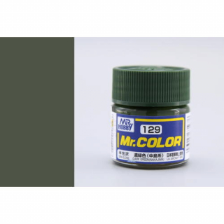 C129 Mr.Color Dark Green (Nakajima) Semigloss 10 ml