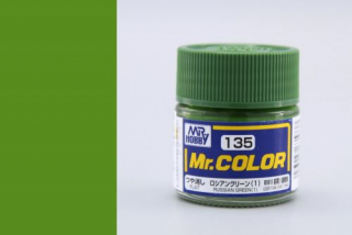 C135 Mr.Color Russian Green 1 Flat 10 ml