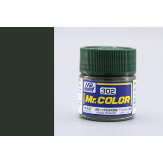 C302 Mr.Color FS34092 Green Semigloss (USAF A-10A) Semigloss 10 ml