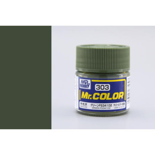 C303 Mr.Color FS34102 Green (USAF A-10A) Semigloss 10 ml