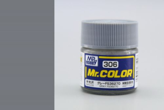 C306 Mr.Color FS36270 Grey (USAF F-16) Semigloss 10 ml