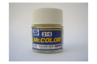 C316 Mr.Color FS17875 White (US NAVY F-14; A-4) gloss 10 ml