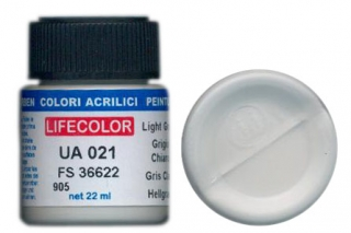 UA 021 Light Grey mimetic; acrylic 22 ml