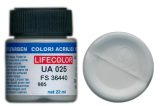 UA 025 Light Gull Grey mimetic; acrylic 22 ml