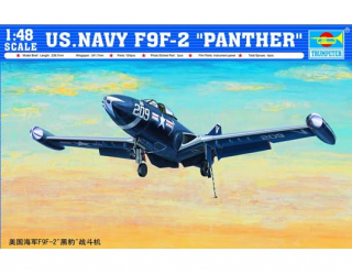 U.S. NAVY F9F-2 PANTHER; 1:48