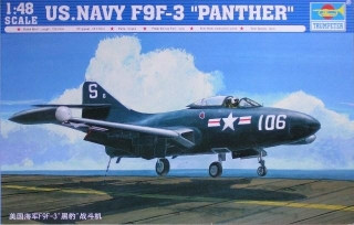 U.S. NAVY F9F-3 PANTHER; 1:48
