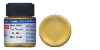 LC 25 Matt Gold; acrylic 22 ml