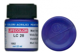 LC 28 Matt Violet; acrylic 22 ml