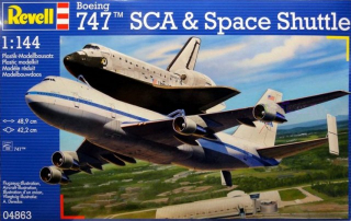 Boeing 747 SCA & Space Shuttle; 1:144