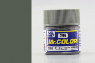 C25 Mr.Color Dark SeaGray Semigloss (RAF Aircraft) 10 ml