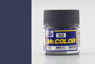 C32 Mr.Color Dark Grey 2 Semigloss (Yokosuka NAVAL Arsenal) 10 ml