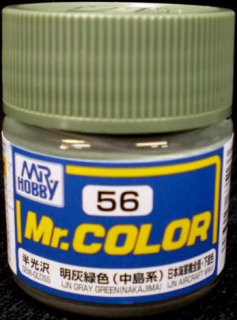 C56 Mr.Color IJN Gray Green - Nakajima (IJN Aircraft WWII)10 ml