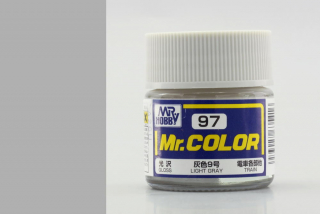 C97 Mr.Color Light Gray (Train); gloss 10 ml