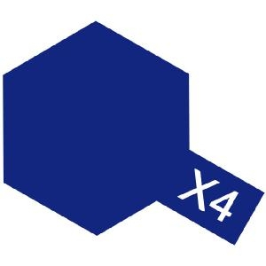 X-4 - Blue acryl mini 10 ml