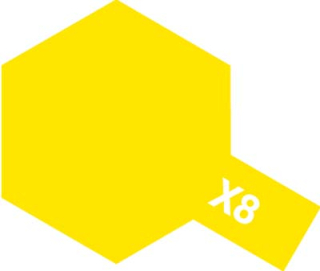 X-8 - Lemon Yellow acryl mini 10 ml