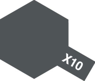 X-10 - Gun Metal acryl mini 10 ml