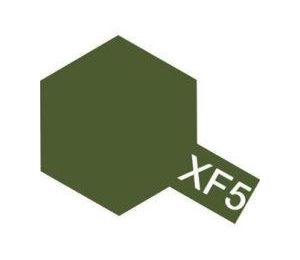 XF-5 - Flat Green acryl mini 10 ml