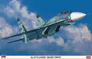 "Su-27 Flanker ""SHARK TEETH""; 1:72"