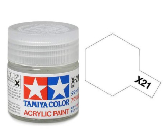 X-21 - Flat Base acryl mini 10 ml