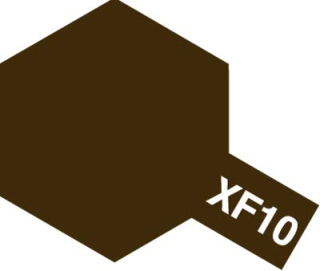 XF-10 - Flat Brown acryl mini 10 ml