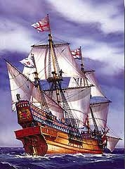 Golden Hind; 1:200