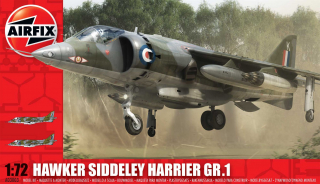 Hawker Siddeley Harrier GR.1; 1:72