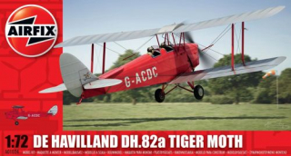 De Havilland DH.82a Tiger Moth; 1:72