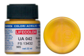 UA 042 Chrome Yellow mimetic; acrylic 22 ml