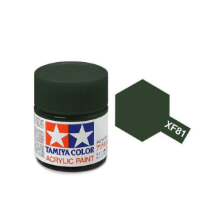 XF-81 - Dark Green 2 (RAF) acryl mini 10 ml