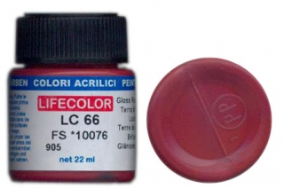 LC 66 Gloss Raw Sienna; acrylic 22 ml