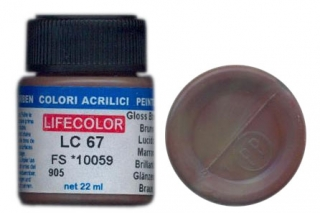 LC 67 Gloss Brown; acrylic 22 ml