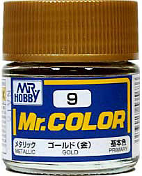 C9 Mr.Color Gold Metalic 10 ml