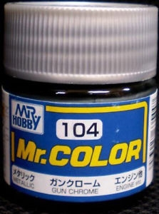 C104 Mr.Color Gun Chrome Metalic 10 ml
